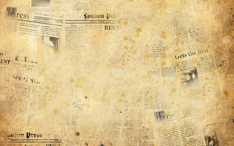 Hintergrundmuster alte Zeitung